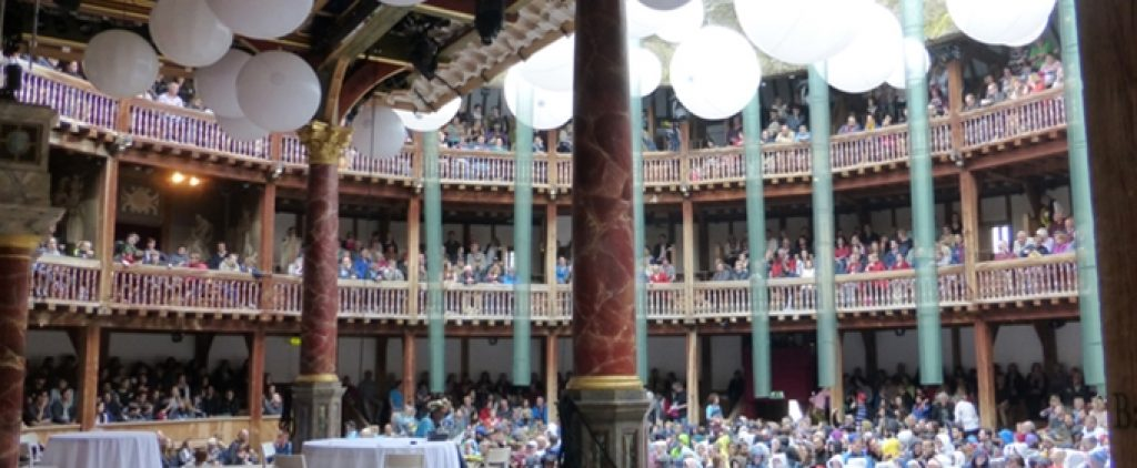 Year 8 Trip To The Globe Theatre