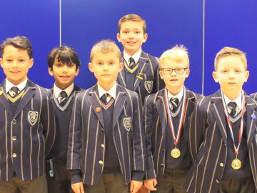 Under 9 hockey success at the Beeston Hall tournament