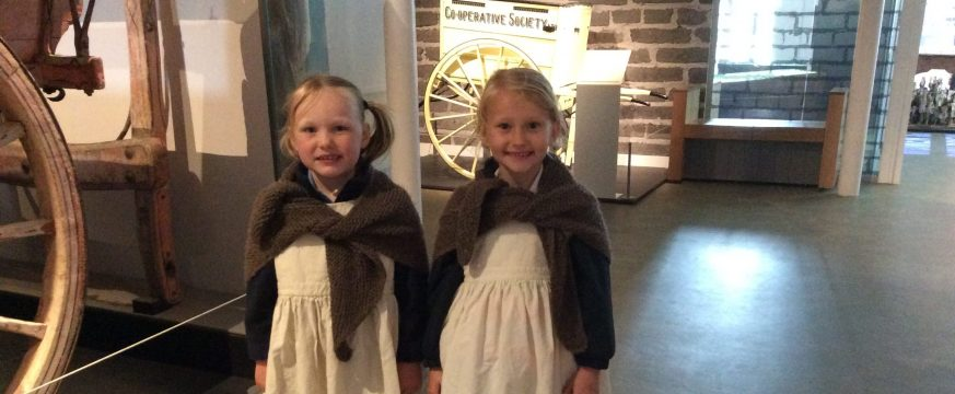 Year One take a trip back in time at Gressenhall Workhouse and Farm