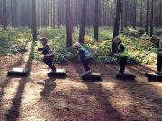 Reception visit to Thetford Forest