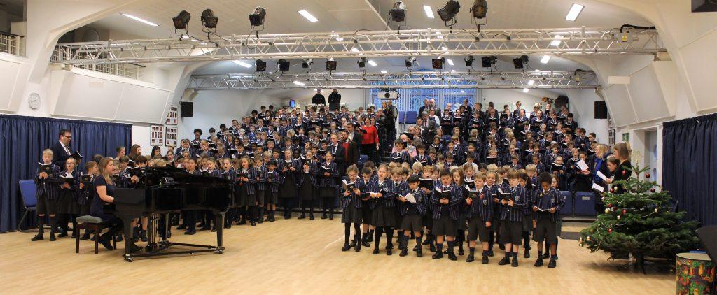 An abundance of festive cheer at Town Close School!
