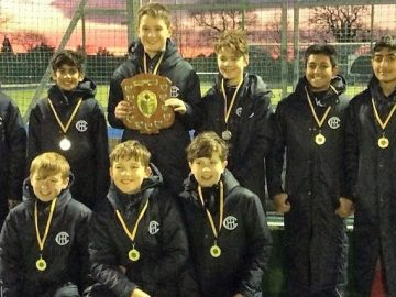 The Town Close School Hockey 1st Team retain their county title!