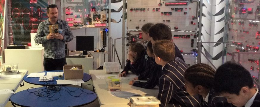 Year 5 visit to The Centre for Computing History