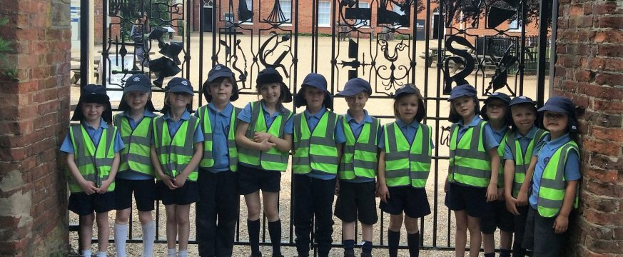 The Town Close School Year 1 children visit Gressenhall Farm and Workhouse