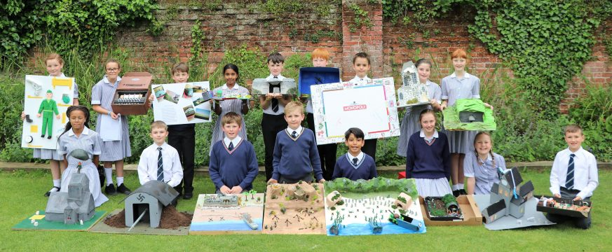 Town Close School in Norwich commemorates the 75th Anniversary of the D Day Landings