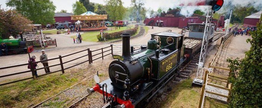 The Town Close School Reception children visit Bressingham Steam and Gardens