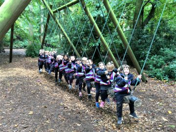 Reception trip to High Lodge at Thetford Forest