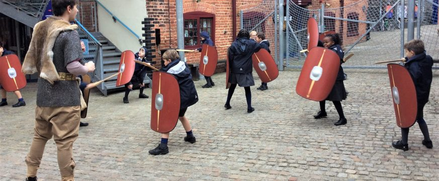 Town Close Year 4 Pupils visit the Time and Tide Museum in Great Yarmouth