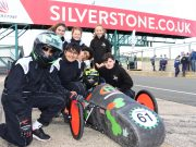 Town Close School celebrate their Silverstone motor racing success!