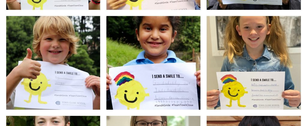 Town Close School's 'Send A Smile' features in the EDP