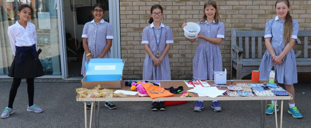 Year 6 girls raise vital funds for our Charity