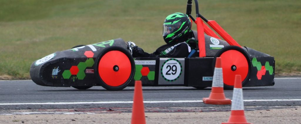 Our Year 8 F24 Team begin their long awaited season with a win at Bedford Autodrome!