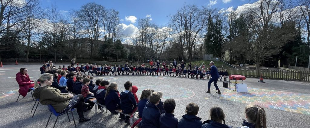 New World Record – Comic Relief visit from Ben Langley