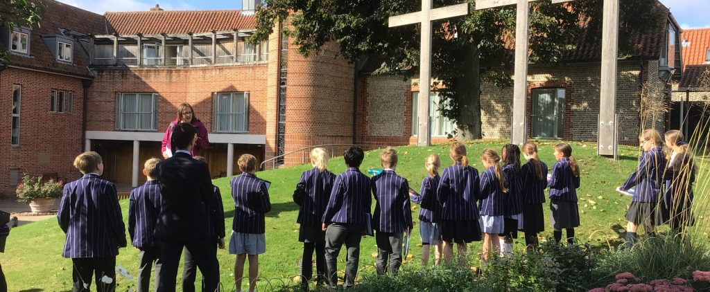 Year 6 enjoy a Religious Studies trip to Walsingham