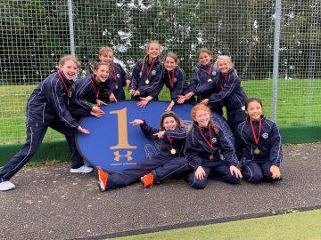 U11 girls crowned Norfolk In2Hockey Champions!