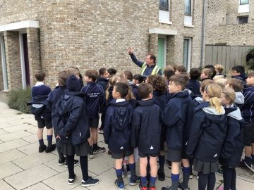 Our Year 4 geographers visit Goldsmith Street