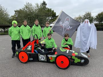 Our Year 8 F24 Team race at Goodwood Motor Circuit